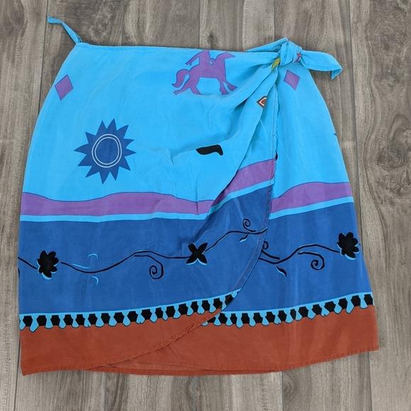 5/$25 Ports International Sz 10 Wrap Skirt